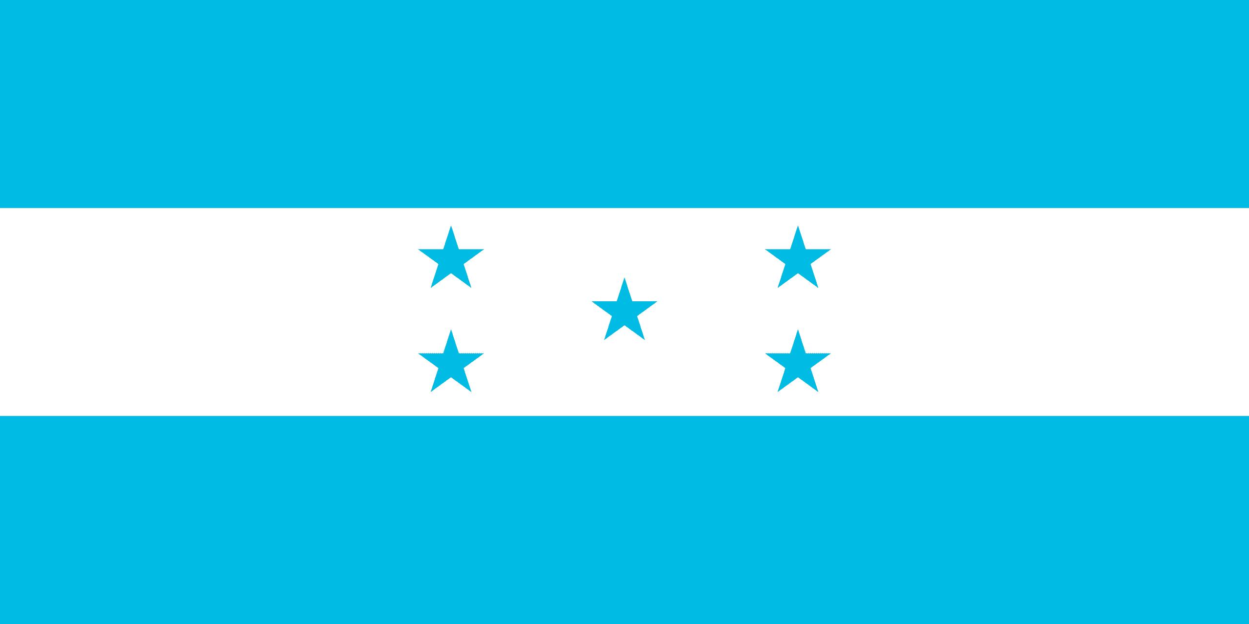 Resultado de imagen para Honduras Bandera