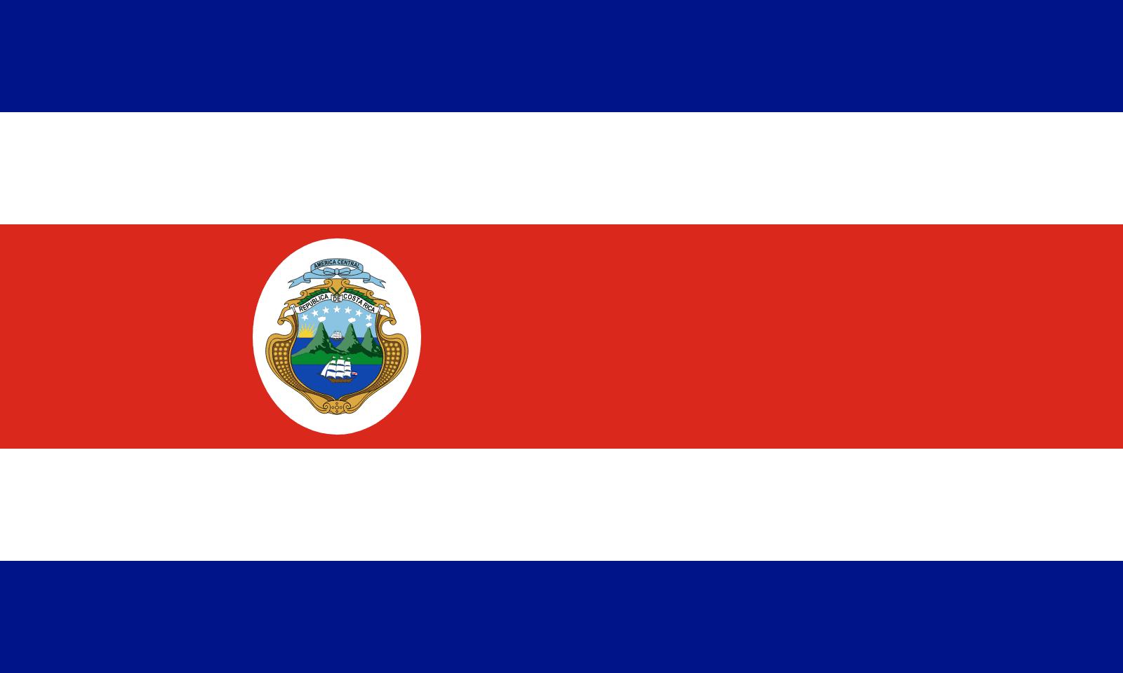 Bandera de Costa Rica | Banderas-mundo.es