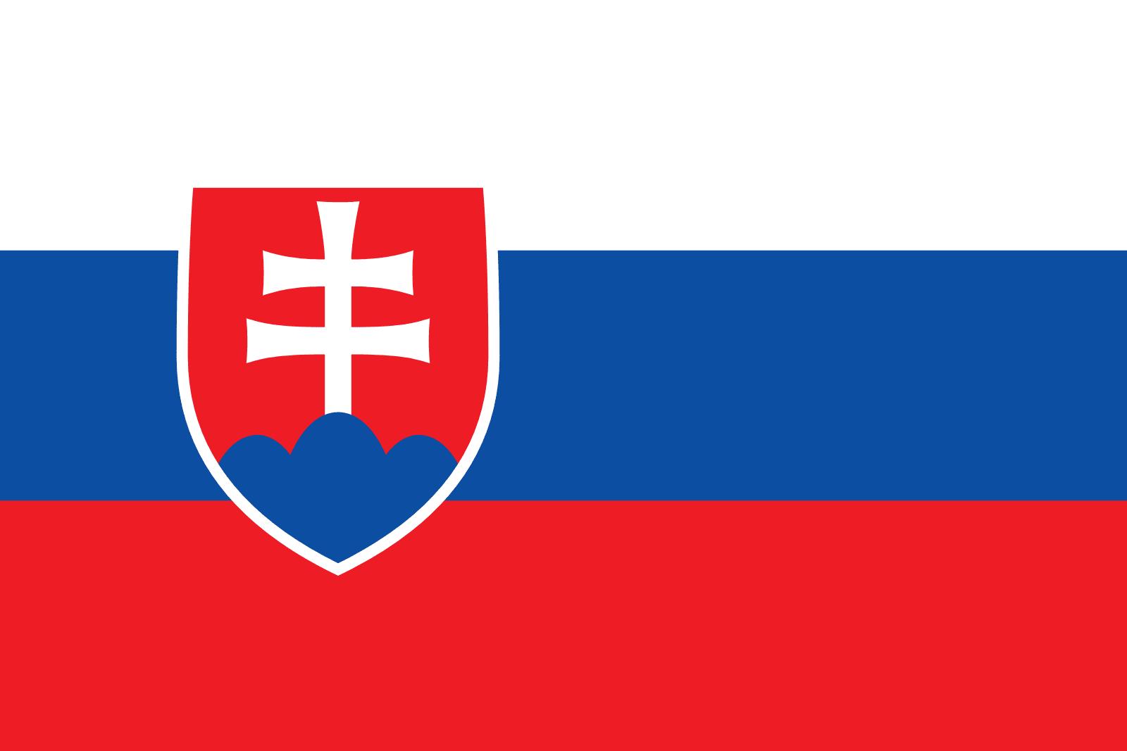 Resultado de imagen de bandera eslovaco