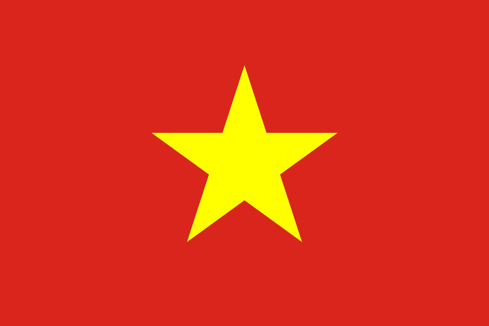 Bandera de Vietnam | Banderas-mundo.es